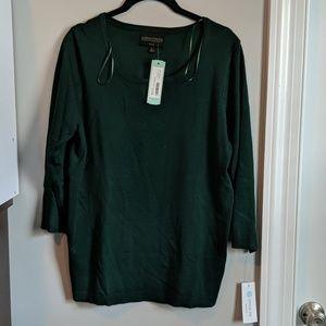 Stitch fix NWT green sweater